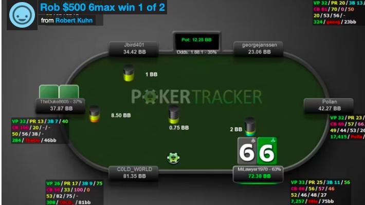 6max rob wins pt1